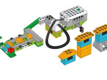 Bài 11: Động đất - Dự án khoa học bộ Lego Wedo 2.0 - Robot Milo 45300