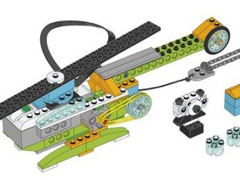 Bài 15: Cứu hộ và vận chuyển - Dự án khoa học bộ Lego Wedo 2.0 - Robot Milo 45300