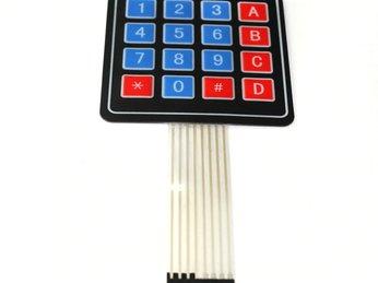 40 - Lập trình Microbit Nâng cao: Bàn phím 4x4
