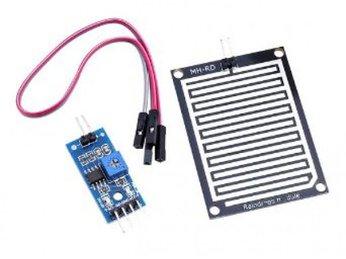 22 - Lập trình Micro bit Nâng cao: Cảm biến mưa - cảm biến mực nước