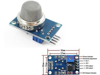 18 - Lập trình Micro bit Nâng cao: Cảm Biến Khói - cảm biến khí gas