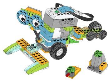 Bài 25: Khám phá mặt trăng - Chủ đề Tư duy máy tính bộ Lego Wedo 2.0 - Robot Milo 45300