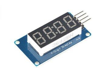 P5- Tài liệu lập trình Arduino bằng mBlock - Tự học arduino cơ bản: 4 LED 7 đoạn