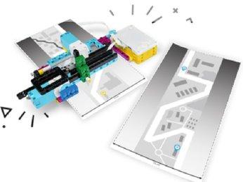 Bài 3: Hướng dẫn Lego Spike Prime 45678 : Theo dõi bản đồ