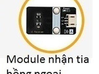 33 - Module nhận tia hồng ngoại cho Microbit - Lập trình Microbit