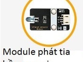 34 - Module phát tia hồng ngoại cho Microbit - Lập trình Microbit
