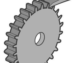 Bài 4: Chốt và bánh cóc - Lego Education 9686 Kỹ sư cơ khí