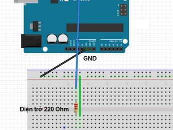 01 - Chớp tắt đèn LED - lập trình Arduino từ cơ bản đến nâng cao