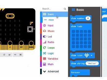 01 - Lập trình Micro:bit - Phần mềm MakeCode Editor - Lập trình STEM