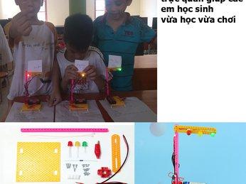 Giáo cụ STEM - công cụ gieo hạt giống STEM trong giáo dục STEM