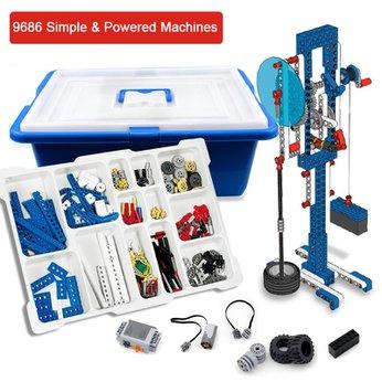 Đồ Chơi Giáo Dục Lego Education Đồ Chơi Lego 9686 Kỹ sư cơ khí