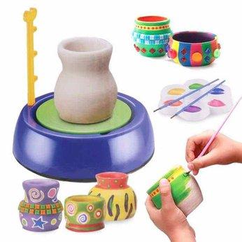 Máy làm gốm - đồ chơi STEM - đồ chơi mô hình - đồ chơi lắp ráp