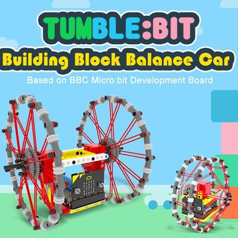 Tumble:bit - Xe robot cân bằng Tumble Bit - Lego Education - Microbit