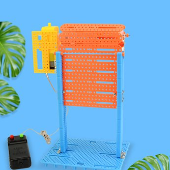 Cửa cuốn thông minh - đồ chơi STEM - đồ chơi mô hình - đồ chơi lắp ráp