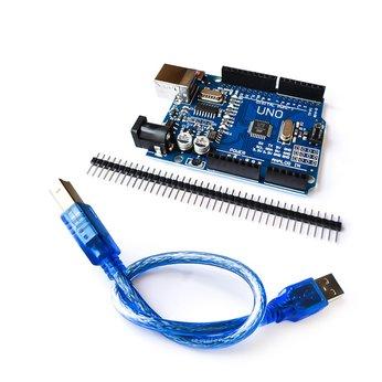 Arduino Uno R3 SMD (CH340 + ATMEGA328P-AU) - lập trình arduino