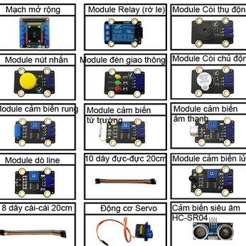Bộ Kit Micro:bit - Bộ kit MicroBit - Lập trình MicroBit