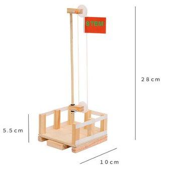 Cột cờ- đồ chơi STEM - đồ chơi mô hình - đồ chơi lắp ráp