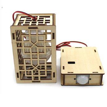 Đèn cảm ứng tự động - đồ chơi STEM - đồ chơi mô hình - đồ chơi lắp ráp