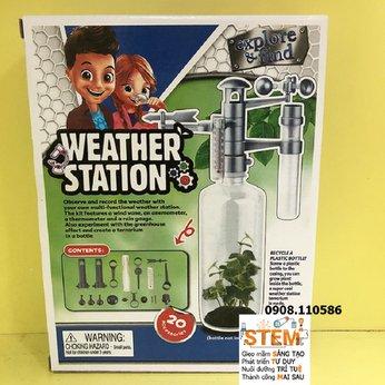 Trạm khí tượngSTEM - đồ chơi STEM phát triển trí tuệ