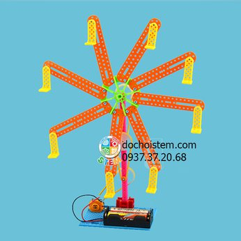 Đu quay- đồ chơi STEM - đồ chơi thông minh - đồ chơi lắp ráp