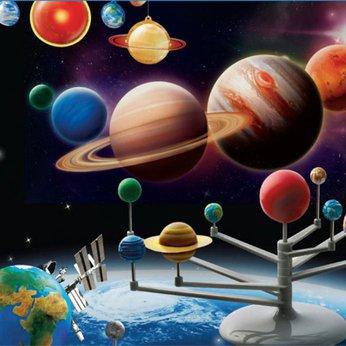 Mô hình hệ mặt trời - đồ chơi STEM - đồ chơi mô hình - đồ chơi lắp ráp