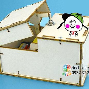 Hộp gỗ khó ưa - đồ chơi STEM thông minh phát triển trí tuệ