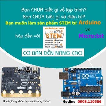 Khóa học Arduino - Khóa học lập trình - Bộ Kit học lập trình STEM