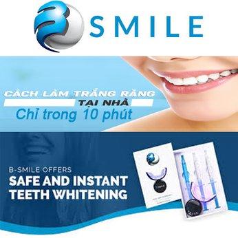 Thiết bị Làm trắng răng tại nhà BSmile