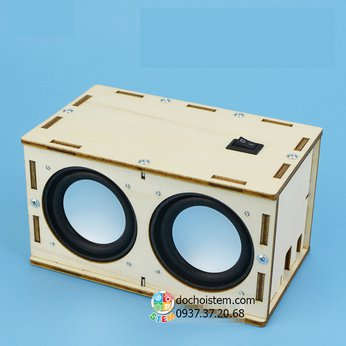 Loa Bluetooth - đồ chơi STEM - đồ chơi thông minh - đồ chơi lắp ráp