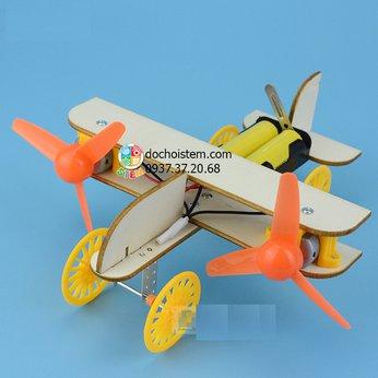 Máy bay cánh quạt- đồ chơi STEM - đồ chơi mô hình - đồ chơi lắp ráp