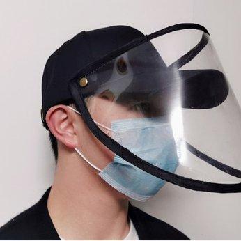 Mũ lưỡi trai chống dịch kèm màn chắn bảo vệ - Nón chống dịch