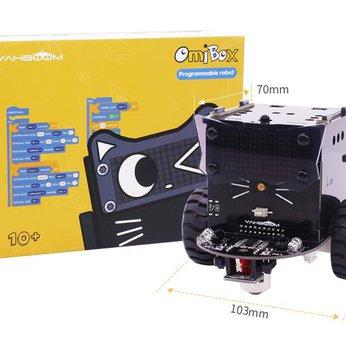 Xe robot Omibox - lập trình Scratch - sử dụng Arduino và mô hình LEGO