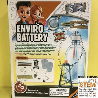 Pin điện môi trường STEM - đồ chơi STEM phát triển trí tuệ