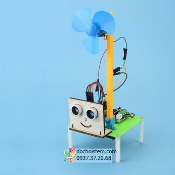 Quạt cảm ứng - đồ chơi STEM - đồ chơi thông minh - đồ chơi lắp ráp