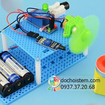 Quạt chữa cháy thông minh- đồ chơi STEM phát triển trí tuệ