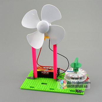 Quạt hẹn giờ DIY - đồ chơi STEM khoa học phát triển trí tuệ