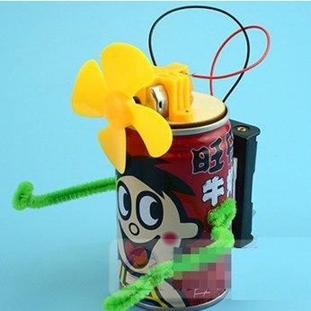 Quạt lon nước- đồ chơi STEM - đồ chơi mô hình - đồ chơi lắp ráp