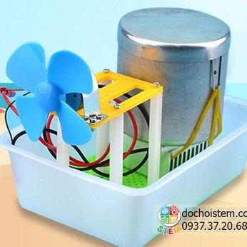 Quạt nhiệt điện- đồ chơi STEM - đồ chơi thông minh - đồ chơi lắp ráp