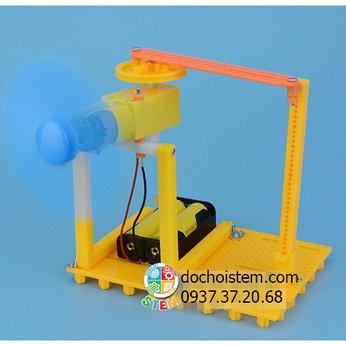 Quạt quay làm mát - đồ chơi STEMphát triển trí tuệ