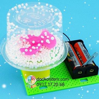 Máy thổi tuyết- đồ chơi STEM - đồ chơi thông minh - đồ chơi lắp ráp