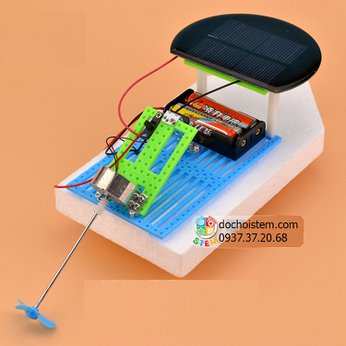 Thuyền năng lượng mặt trời- đồ chơi STEM - đồ chơi mô hình