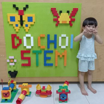 Tường Lego - Lego Dán Tường - Giáo Dục Mầm Non - Đồ Chơi Giáo Dục Sớm