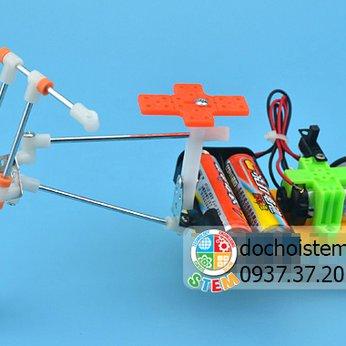Xe 3 bánh- đồ chơi STEM - đồ chơi mô hình - đồ chơi lắp ráp