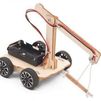 Xe hút đinh đồ chơi STEM - đồ chơi khoa học - đồ chơi DIY
