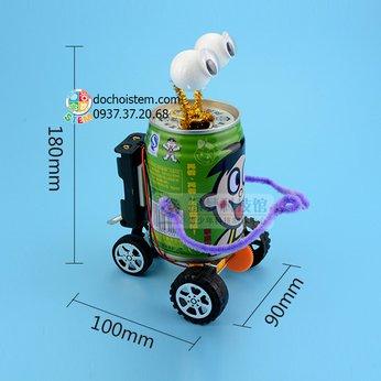 Xe lon nước ngọt - đồ chơi STEM - đồ chơi mô hình - đồ chơi lắp ráp