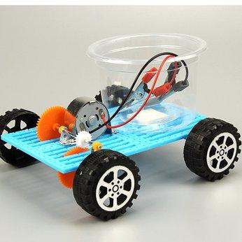 Xe điện pin nước muối - đồ chơi STEM phát triển trí tuệ