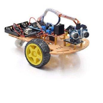 [Tặng Khóa Học] Xe Robot Lập Trình Giá Rẻ - Xe Dò Line Tránh Vật Cản