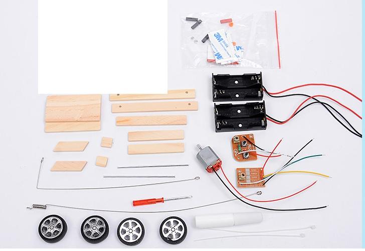 Xe điều khiển - đồ chơi STEM - đồ chơi mô hình - đồ chơi lắp ráp