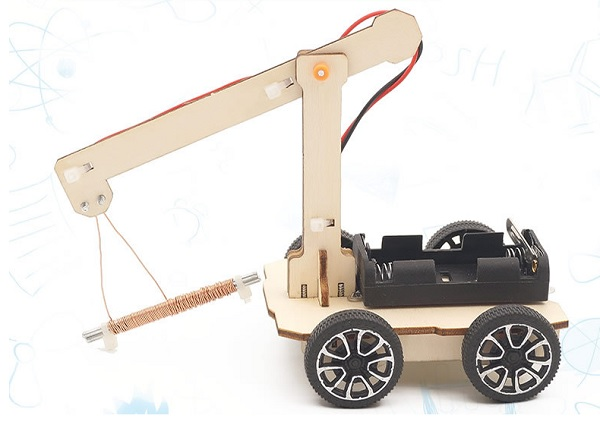 Xe hút đinhđồ chơi STEM - đồ chơi khoa học - đồ chơi DIY
