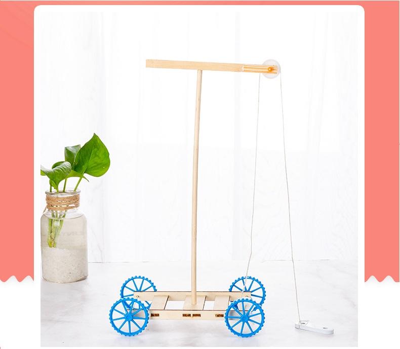 Xe ròng rọc- đồ chơi STEM - đồ chơi mô hình - đồ chơi lắp ráp